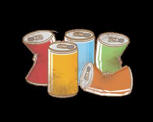 空き缶など
