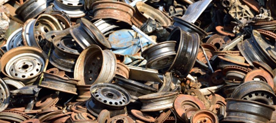 不要鉄屑の回収